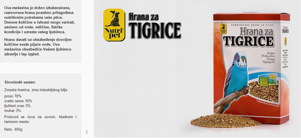 np tigrice