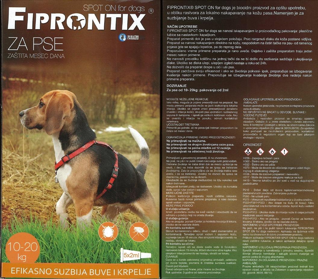 fiprontix srednji